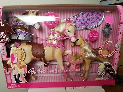 Vintage Barbie Horse - Baby Horse & Stable Styles - RARE!