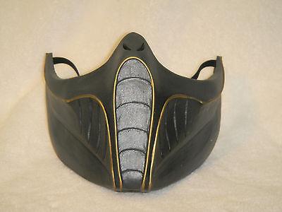 MK9 Saurian mask costume cosplay nt Reptile Mortal kombat MK9 - Reptile Mk