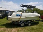 Custom ski/fish boat 5.9m bowrider fibreglass Mount Cotton Redland Area Preview