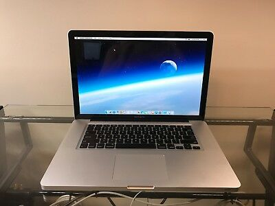 Apple MacBook Pro 15 INTEL Core PRE-RETINA UPGRADED 8GB RAM 500GB WARRANTY ~ ~