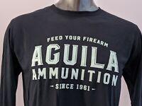 Aguila Ammunition Feed Your Firearm Tan Sticker Small Decal OEM Original