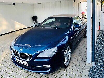 BMW 640i 3,0 Cabriolet aut. 2d
