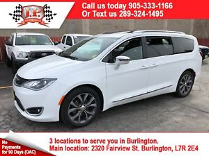 2017 Chrysler Pacifica Limited, Navi, Leather, Pan Sunroof, 35,