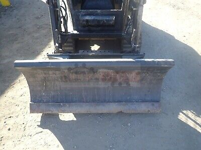 Quick Attach 50 Dozer Blade For Skid Steer And Track Loaders