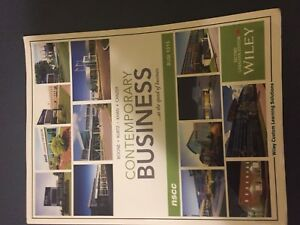 Various  NSCC business textbooks