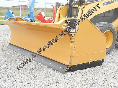 Horst 3200 Skidsteer Qa Snow Wingsnow Pusher8closed-13open Steel Trip Edge