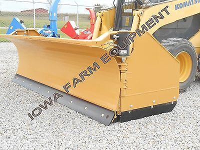 Horst 3200 Skidsteer Qa Snow Wingsnow Pusher8closed-13open Steel Trip Edge