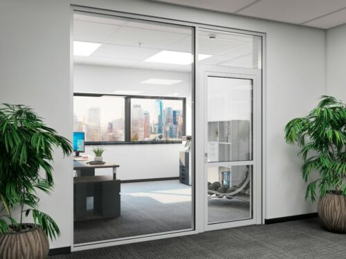 CGP Office Partition System, Glass Aluminum Wall 10