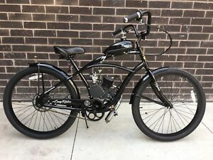 80 cc custom motorized bicycle