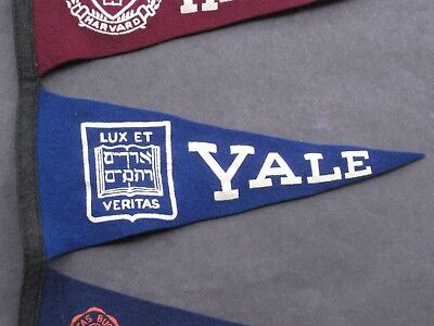 0517380e389 Vintage Yale College Mini Felt Pennant Great condition Many more available  Read