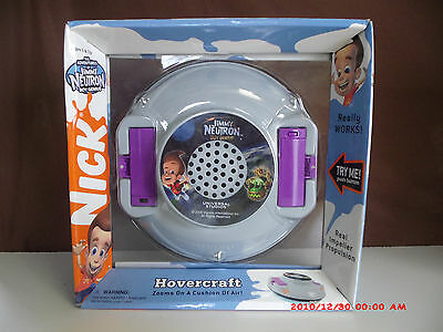 2006 Jimmy Neutron Hovercraft Nickelodeon  NEW IN BOX