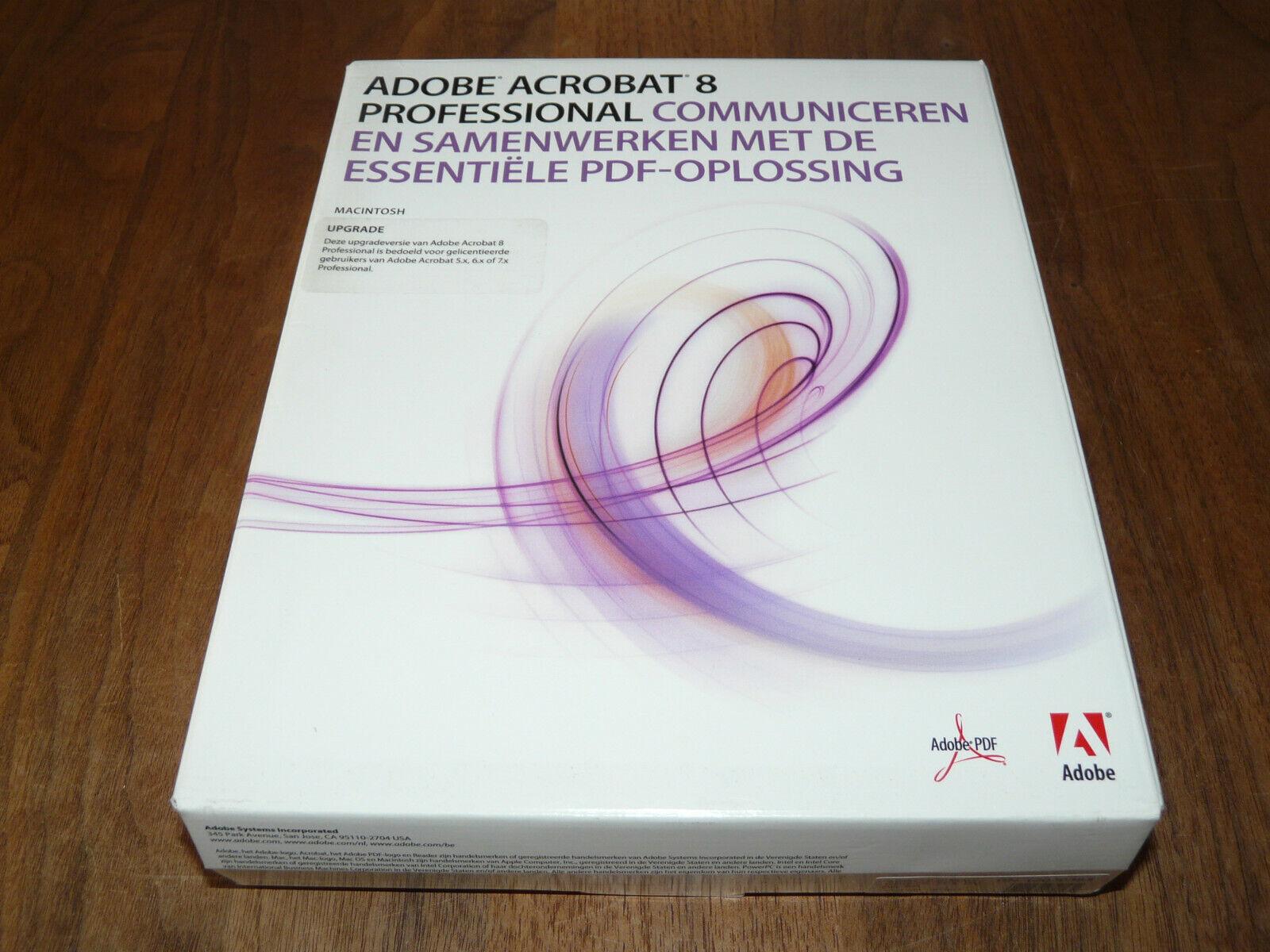 Adobe Acrobat 8 Professional Mac