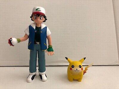 Pokemon Figures Ash & Pikachu Tomy