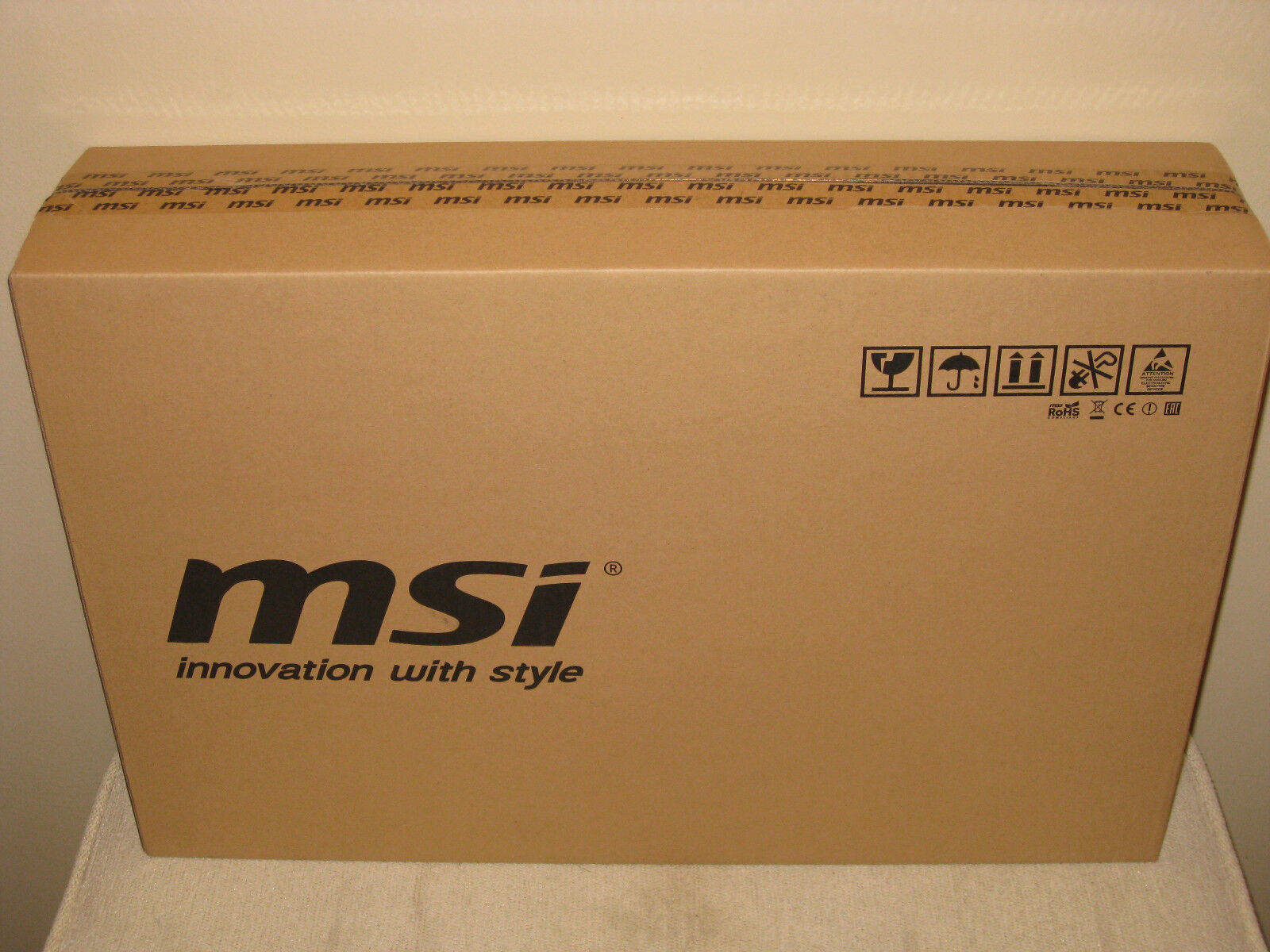 "MSI WS60 2OJ-006US Workstation 15.6"" Laptop  Brand New Sealed"