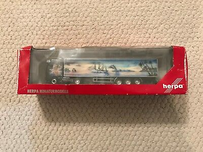 Herpa HO Scale Truck DAF-XF SSC SZ Fabrice Curty for sale  Lizella
