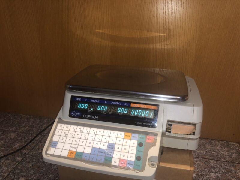Globe GSP30A Label Printing Scale