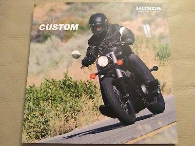 Honda Motorcycles - Custom bikes Brochure - 2011
