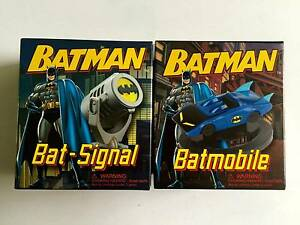 Rare Mini Batman Collectible Batmobile + Bat-signal mini book Kit North Sydney North Sydney Area Preview