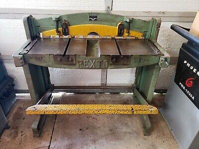 16ga Cap. 36 W Pexto 137-k Sheet Metal Shear School Shop Class