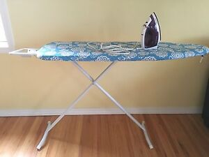 Iron board and black and decker steam iron