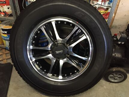 "5 New 18"" Allows with New 285 A/T Tires Mudgeeraba Gold Coast South Preview"