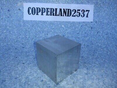 1 Pc 2 X 2 X 2 Long New 6061 T6511 Solid Aluminum Stock Plate Flat Bar Block