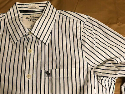 Men's Vintage Abercrombie & Fitch A&F Button Down Shirt - Medium