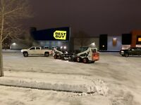 Snow removal services Edmonton and surrounding area