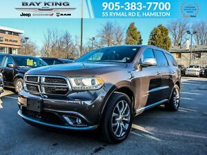 2018 Dodge Durango PLATINUM EDITION AWD, TRAILER TOW, DVD, SUNRO