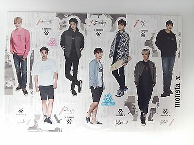 Monsta X MonstaX Standing Paper Doll Korean K Pop Star KPOP Paper Doll