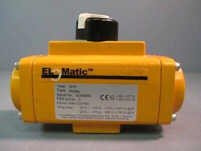 El-o-matic Pneumatic Valve Actuator F0025u