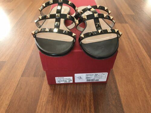 Valentino Garavani Sandalen Schuhe Größe 37 In Schwarz