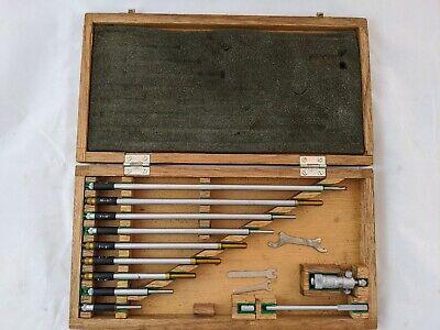 Mitutoyo Depth Micrometer Gage Vintage