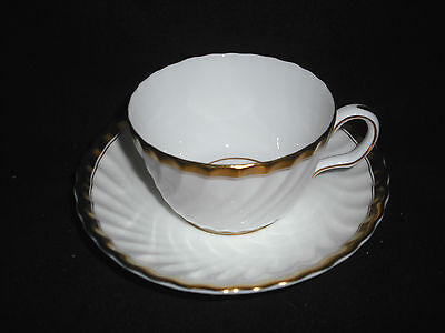 Minton GOLD ROSE- Cup & Saucer Gold-rose-cup