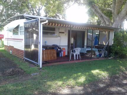 On site Caravan  at Big4 Harrington Fishing Point Lake Macquarie Area Preview