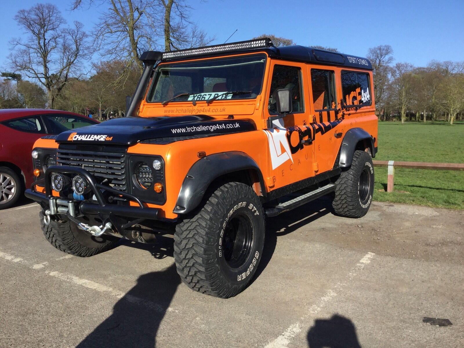Land Rover Defender Led Light Bar Brackets Custom Made 52