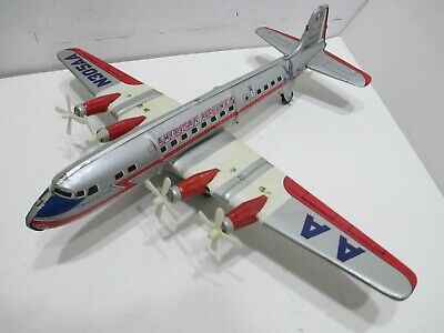 AMERICAN AIRLINES DC-7 FLAGSHIP ALLISON TURNING PROPELLERS EXCELLENT COND 16