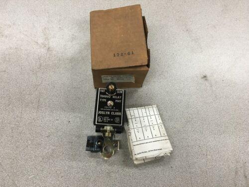 NEW IN BOX JOSLYN CLARK TIMING RELAY KPMT-12