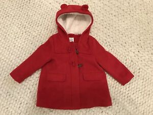Baby Gap Peacoat Wool Toggle CUTE 18-24 months 2T