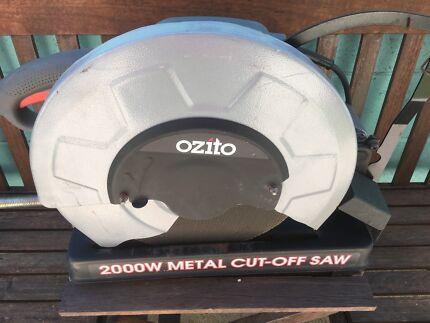 Metal cut off saw