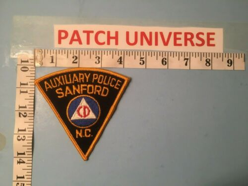 SANFORD NC AUXILIARY  POLICE SHOULDER PATCH  G060