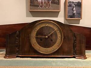 """50's """"Kienzle"""" mantle clock made in Germany Albury Albury Area Preview"""