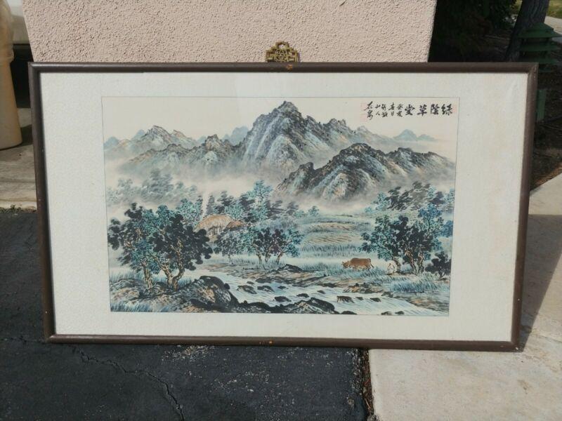 Korean Water Painting