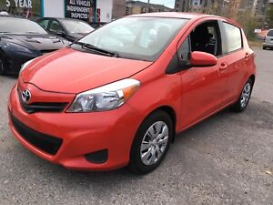 2014 Toyota Yaris 4 Doors MINT Conditions LOW KMS