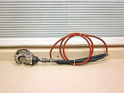 Burndy Hypress Y35 Hydraulic Crimping Tool W Hose Free Shipping