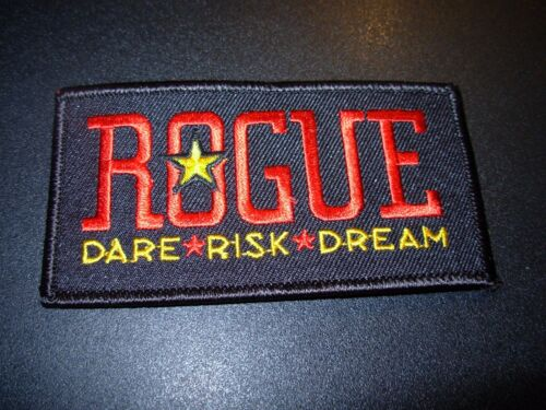 ROGUE dead guy ale shakespeare oatmeal LOGO PATCH craft beer brewery brewing