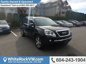 2010 GMC Acadia SLT Low KMS, Emergency Communication System,...