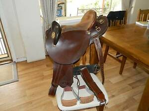 HP Swinging Fender Leather  Saddle (Stock Saddle) Palmer Mid Murray Preview
