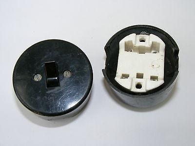 Old Bakelite Wall Light Switch Switch Ap Toggle Switch, Loft Design