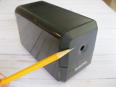 X-acto Electric Pencil Sharpener - Model 18xxx - Tested Works Great Sharp